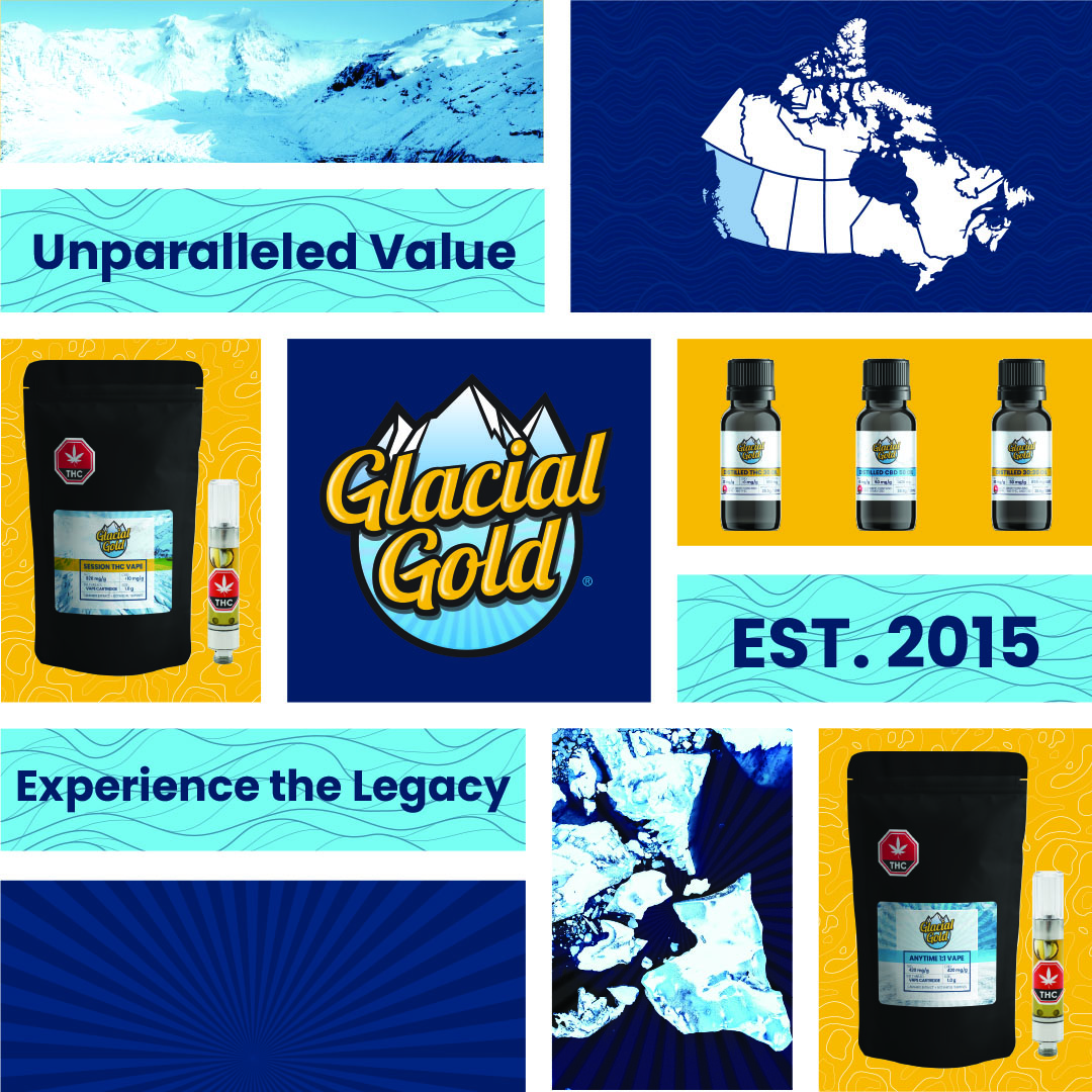 Nextleaf Completes First Shipment of Glacial Gold™ to the BC Liquor Distribution Branch Glacial Gold™ Vape Cartridges and Bottled Oils Available in B.C.